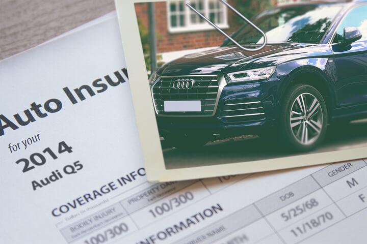 Audi Q5 insurance