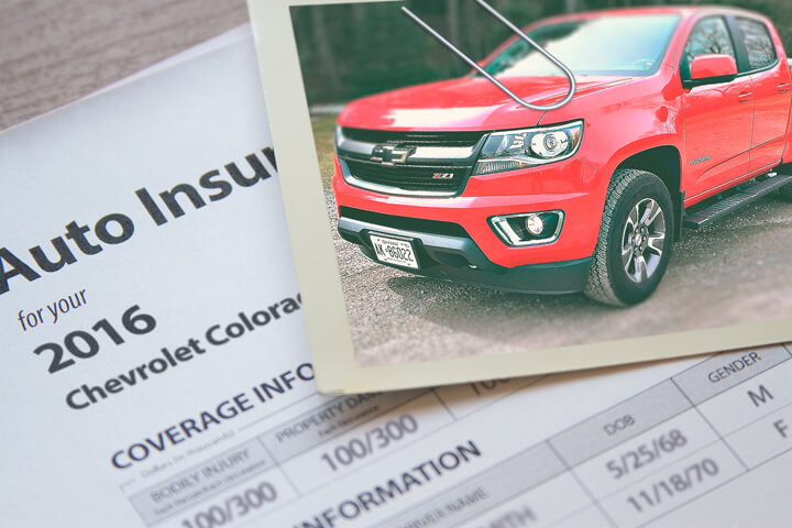 Chevy Colorado insurance rates