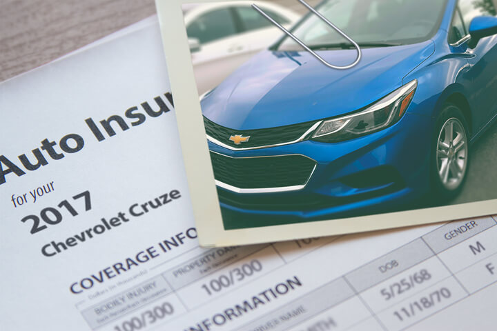 Chevy Cruze insurance cost