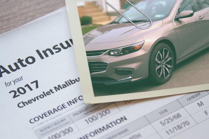 Chevy Malibu insurance
