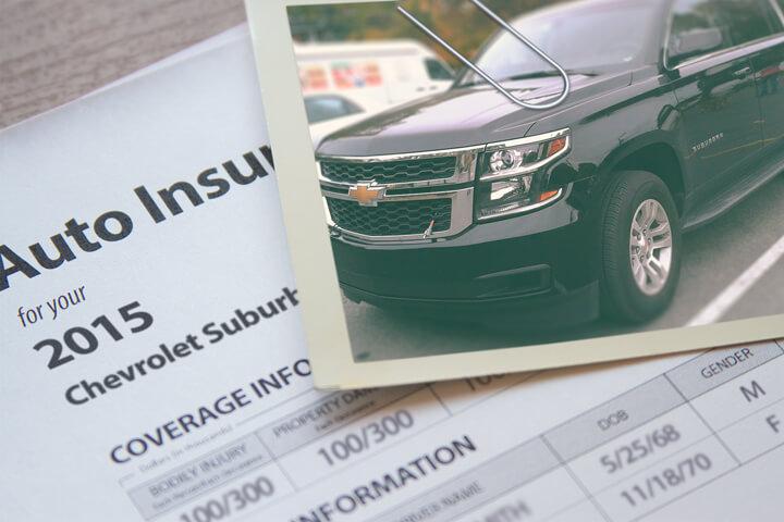 Chevy Suburban insurance