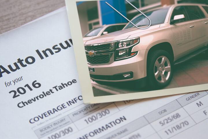 Chevy Tahoe insurance