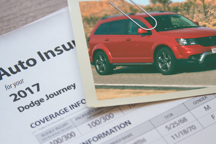 Dodge Journey insurance cost