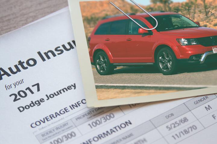Dodge Journey insurance