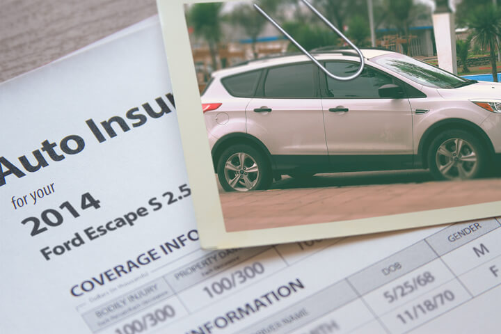 Ford Escape insurance