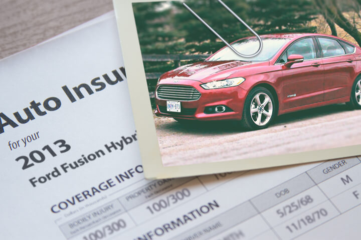 Ford Fusion insurance