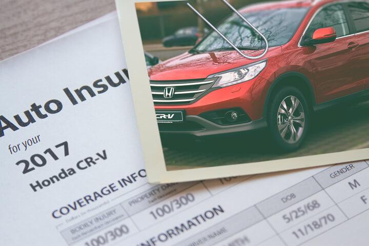 Honda CR-V insurance