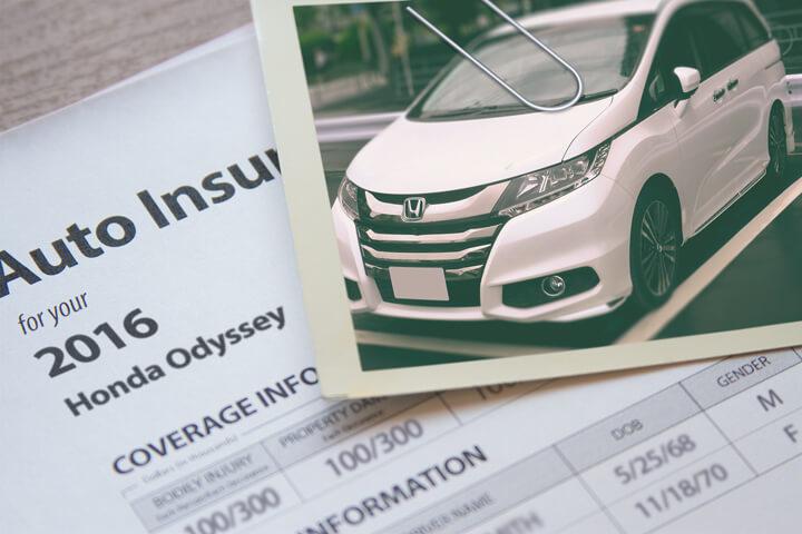 Honda Odyssey insurance