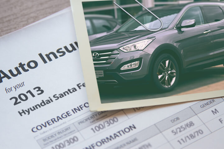 Hyundai Santa Fe insurance rates
