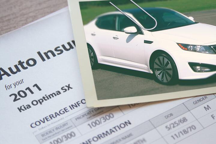 Kia Optima insurance