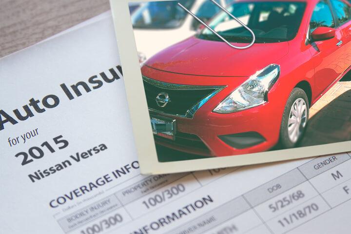 Nissan Versa insurance