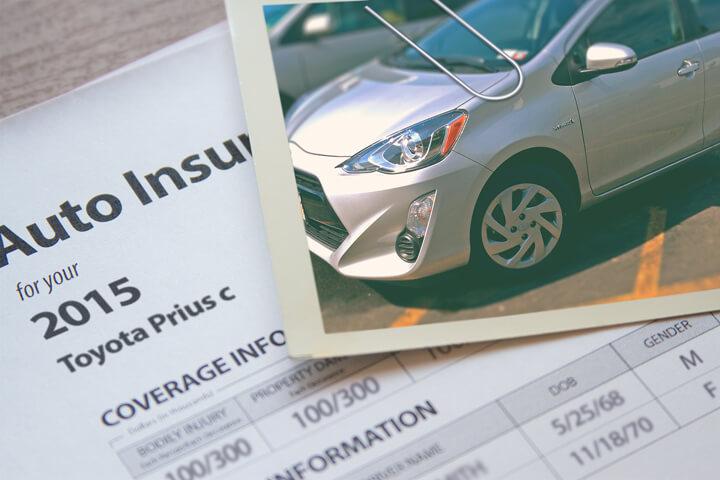 Toyota Prius insurance cost