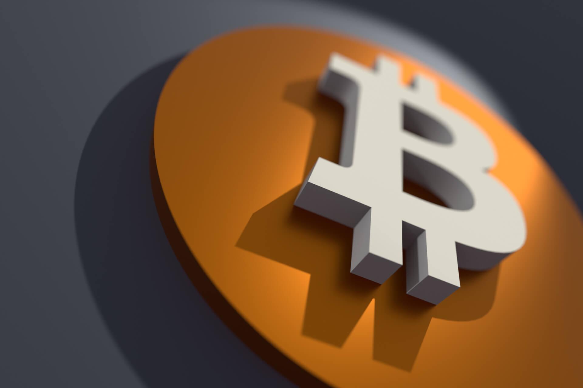 Bitcoin B Logo at angle free image download