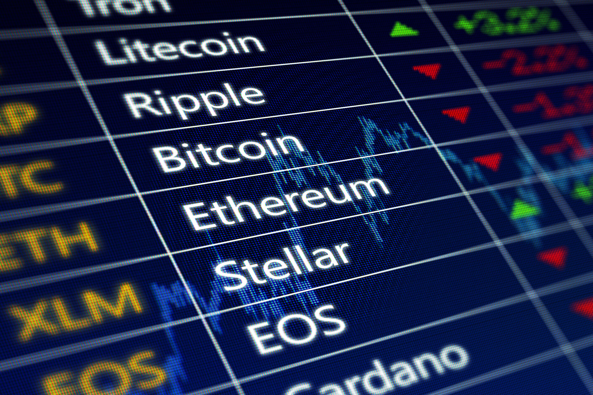 Cryptocurrency Stock Trends Free Image Download