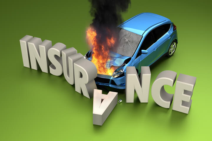 Free Auto Insurance Quotes >> Car fire insurance claim concept free image download