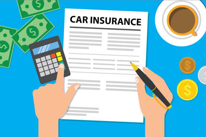 Calculating Car Insurance Bill Again Free Image Download