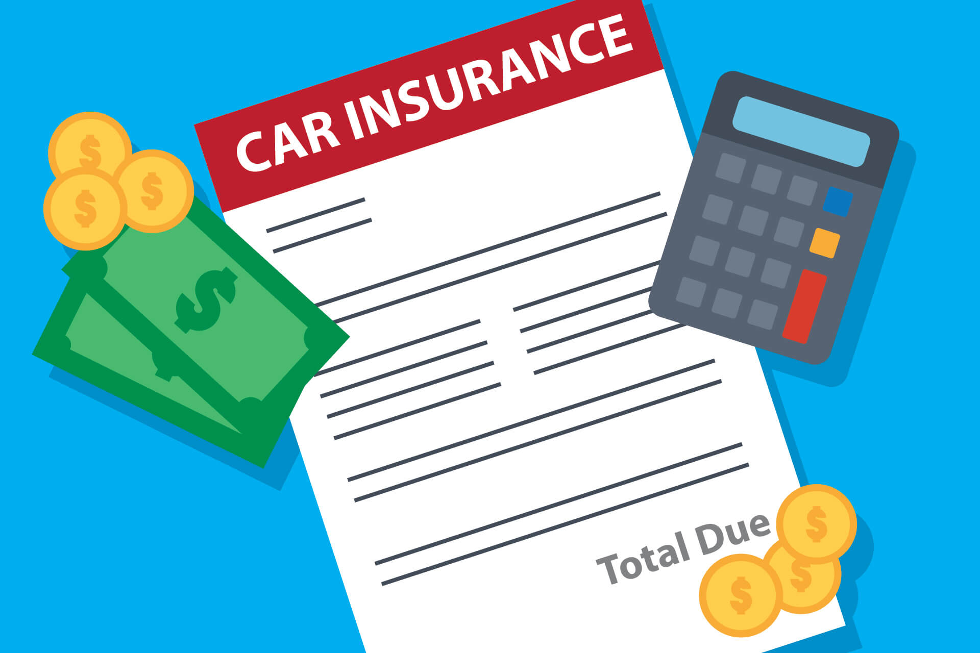Car insurance bill total due free image download