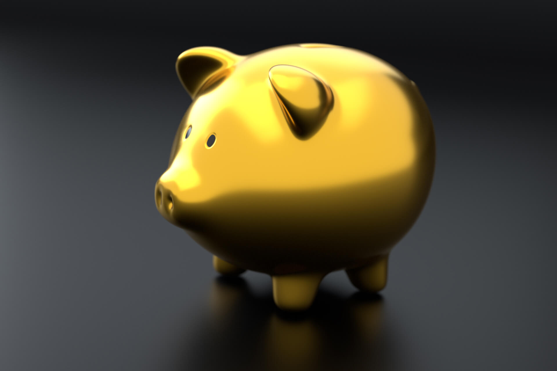 gold piggy bank free image download