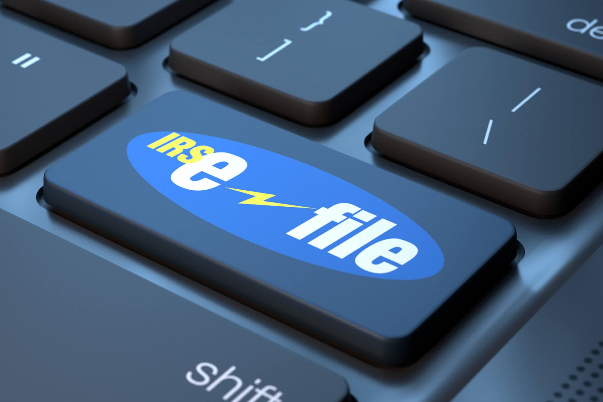 IRS e-file keyboard key free image download